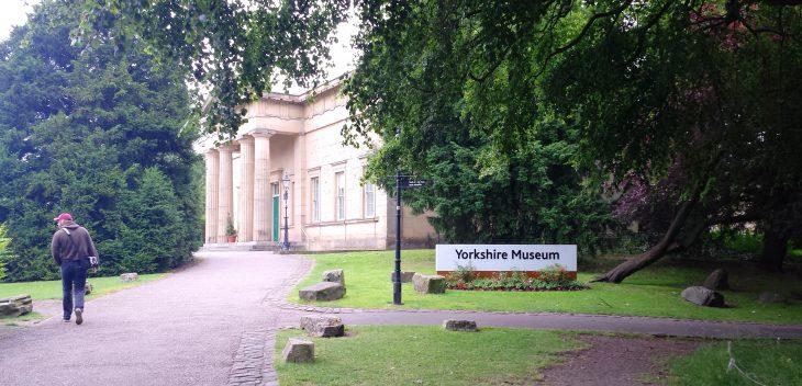 Entrée du Yorkshire museum