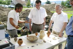 Médiateur en archéologie.