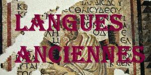 Langues anciennes