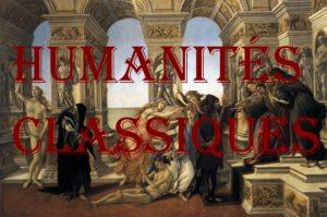 humanités classiques