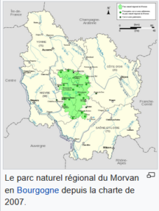 le parc naturel du Morvan au cœur de la Bourgogne. charte de 2007