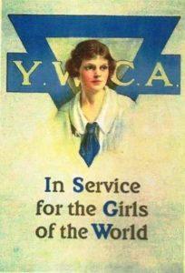 Affiche ancienne de l'YWCA